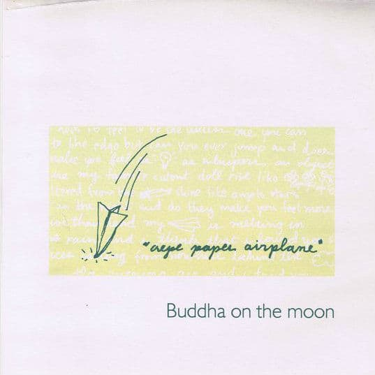 Crepe Paper Aeroplane by Buddha On The Moon