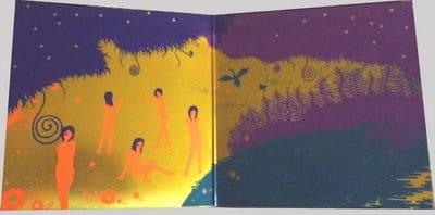 The Flying Garden In The Painting (E no naka no sora ukabu niwa) by Aritomo