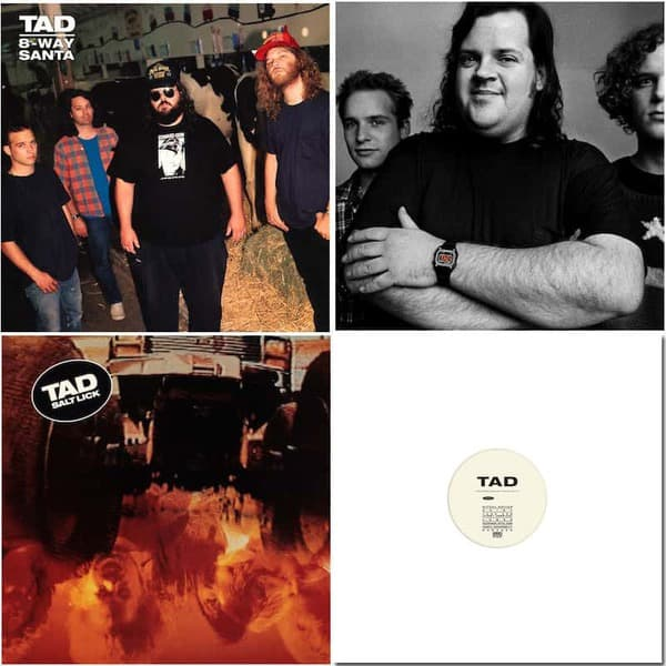 God's Balls / Salt Lick / 8-Way Santa / Bonus LP Bundle by TAD