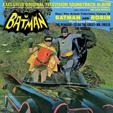Batman - Original Television Soundtrack by Nelson Riddle