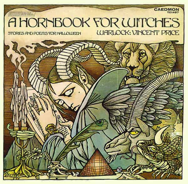 A Hornbook For Witches, Stories And Poems For Halloween by Vincent Price