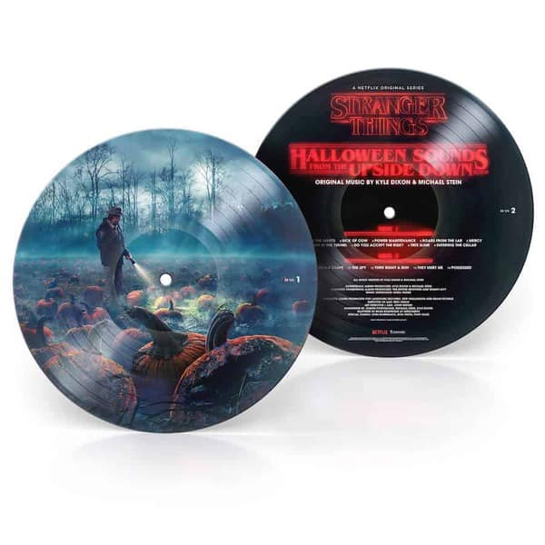 Stranger Things: Halloween Sounds From The Upside Down (Picture Disc) by Kyle Dixon & Michael Stein