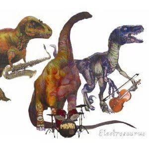 Electrosaurus by Miyagi