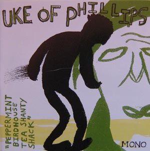 Peppermint Birdhouse Tea Shanty Shack by Uke of Phillips
