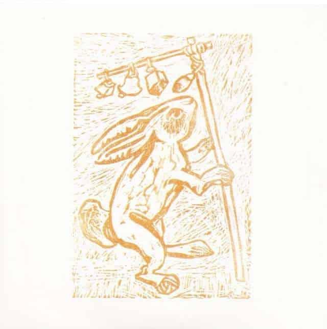 Rabbits Foot Propeller by Davenport