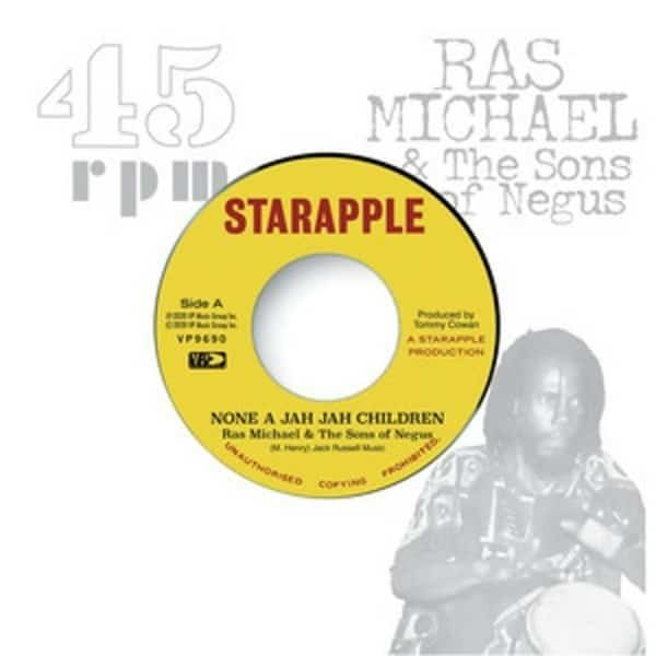 None A Jah Jah Children by Ras Michael & The Sons Of Negus