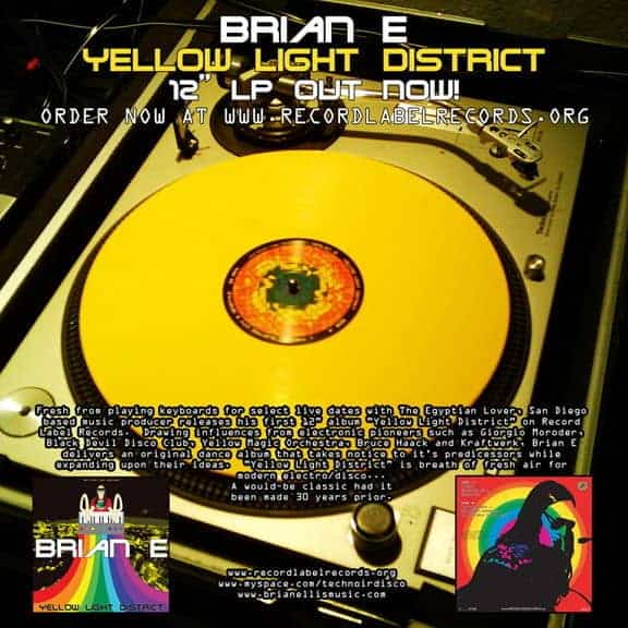 Yellow Light District by Brian Ellis