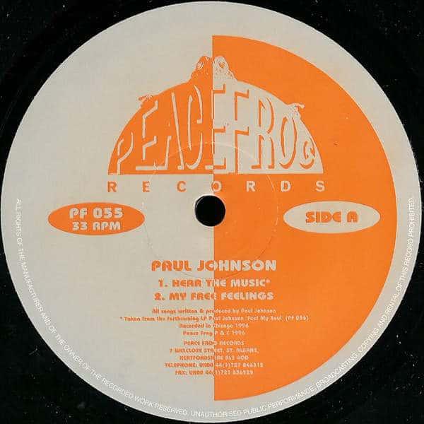Hear The Music by Paul Johnson