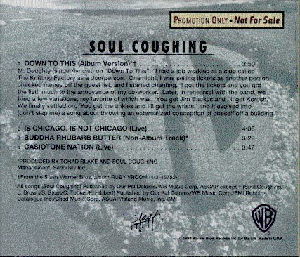 Down To This by Soul Coughing