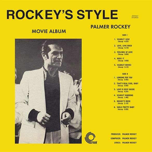 Rockey's Style Movie Album by Palmer Rockey