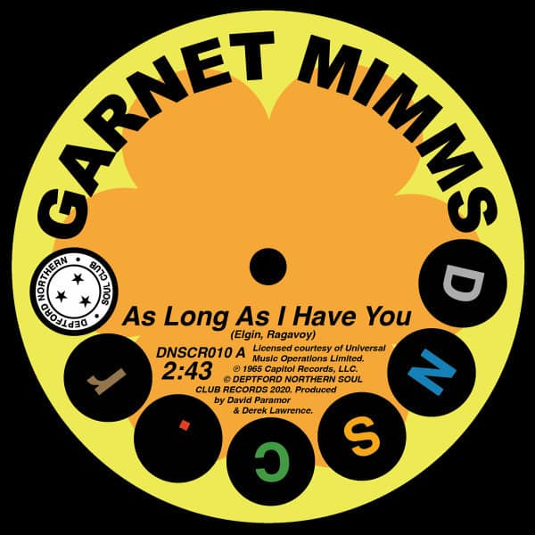 As Long As I Have You / Single Version by Garnet Mimms
