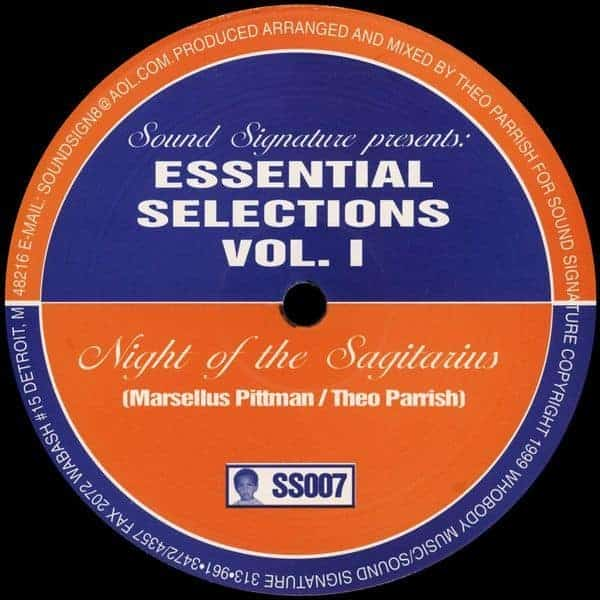 Essential Selections Vol. 1 by Theo Parrish / Marcellus Pittman