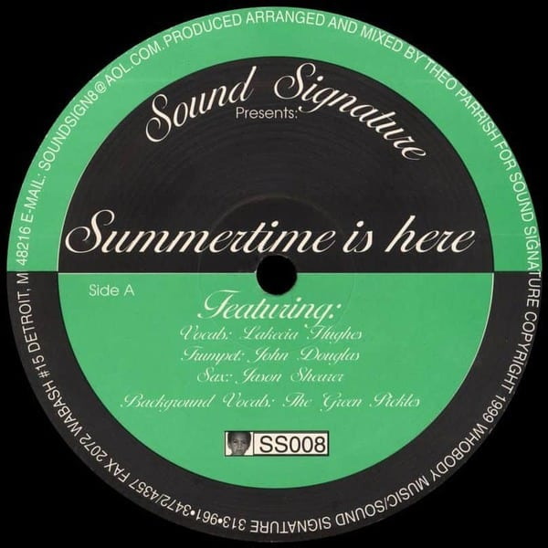 Summertime Is Here by Theo Parrish