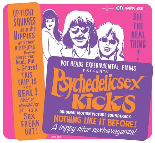 Psychedelic Sex Kicks (Original Motion Picture Soundtrack) by Various