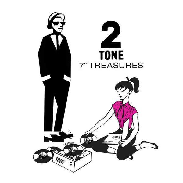 "2 Tone 7"" Treasures by Various"