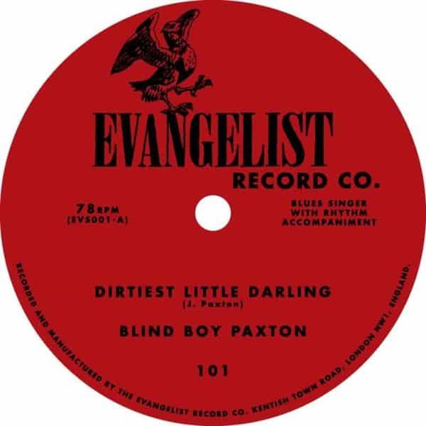 Dirtiest Little Darling / Railroad Bill by Blind Boy Paxton