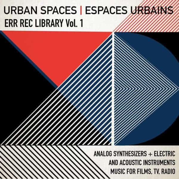 ERR REC Library Vol​.​1 Espaces Urbains by Various