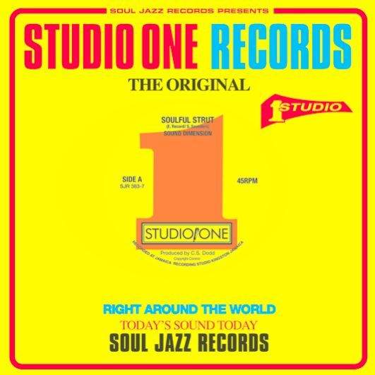 Soulful Strut / Time Is Tight by Sound Dimension