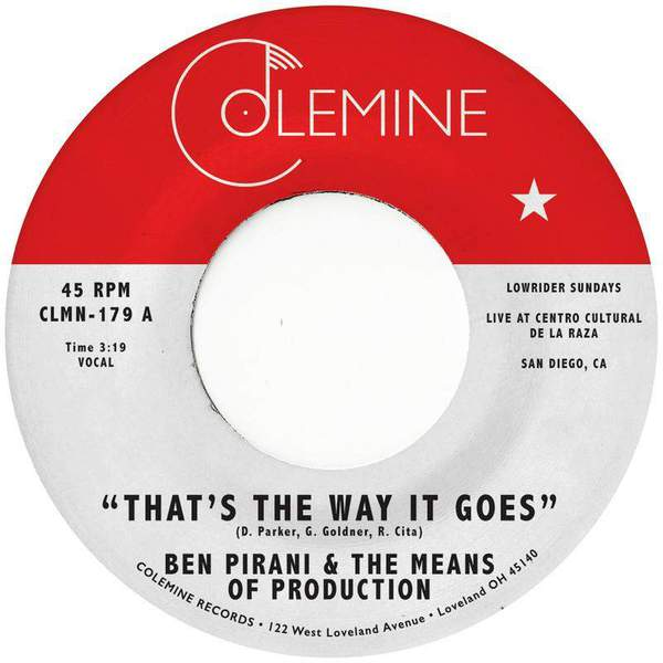 That's The Way It Goes by Ben Pirani