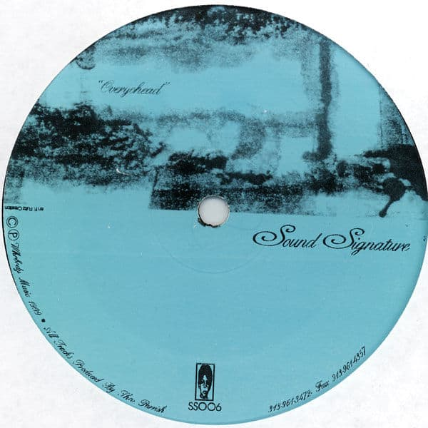 Overyohead / Dance of The Drunken Drums by Theo Parrish