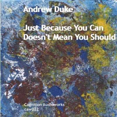 Just Because You Can Doesn't Mean You Should by Andrew Duke