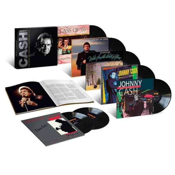 The Complete Mercury Albums 1986-1991 by Johnny Cash