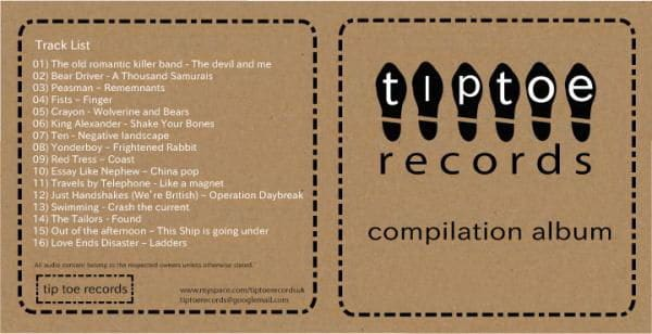 Tiptoe Records Compilation Album by Various