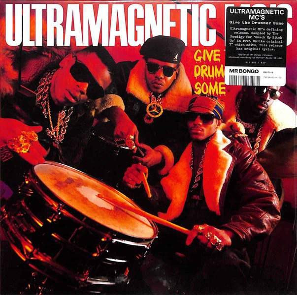 Give The Drummer Some / Moe Luv's Theme by Ultramagnetic MCs