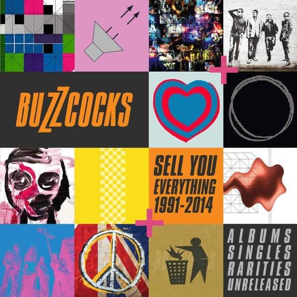 Sell You Everything (1991-2014) Albums, Singles Rarities, Unreleased by Buzzcocks