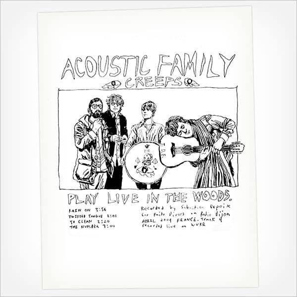 Acoustic Family Creeps: Live by Woods