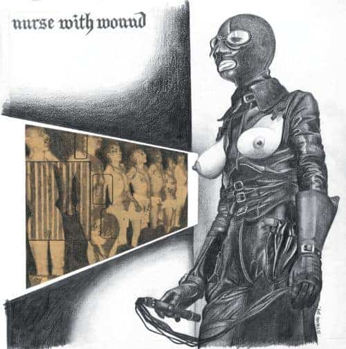 Chance Meeting On A Dissecting Table Of A Sewing Machine And An Umbrella by Nurse With Wound