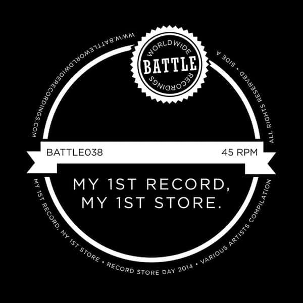 Battle Worldwide Recordings Present: My 1st Record My 1st Store Some Blue Sky Album by Various