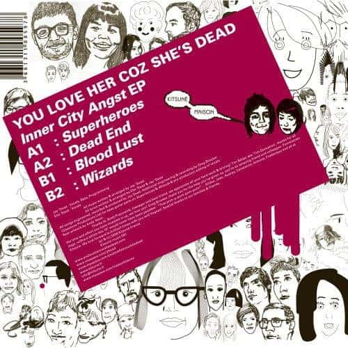 Inner City Angst EP by You Love Her Coz She's Dead