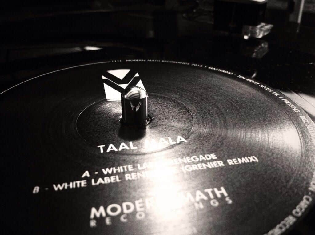 White Label Renegade EP by Taal Mala
