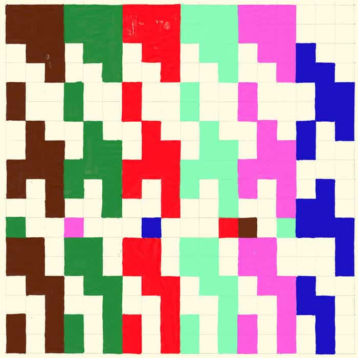 'Wood / Metal / Plastic / Pattern / Rhythm / Rock' by 75 Dollar Bill