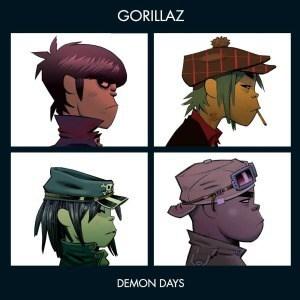 'Demon Days' by Gorillaz