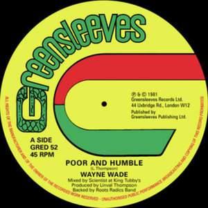 'Poor and Humble' by Wayne Wade