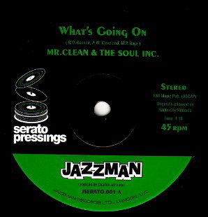 SERATO CONTROL TONE / What's Going On by Mr Clean & The Soul Inc
