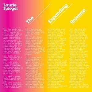 'The Expanding Universe' by Laurie Spiegel