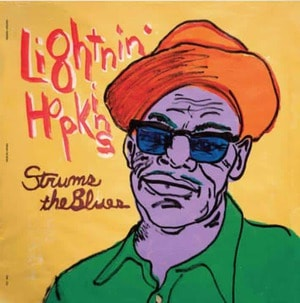 'Strums The Blues' by Lightnin' Hopkins