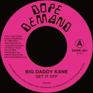 'Set It Off' by Big Daddy Kane
