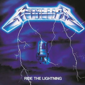 'Ride The Lightning' by Metallica
