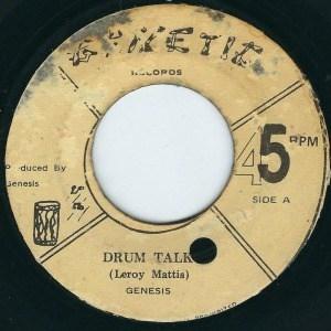 Drum Talk by Genesis