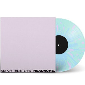 'get off the internet / food for thwart' by HEADACHE
