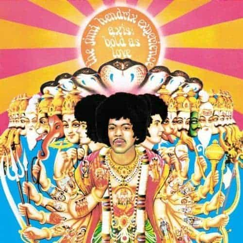 'Axis Bold As Love' by The Jimi Hendrix Experience
