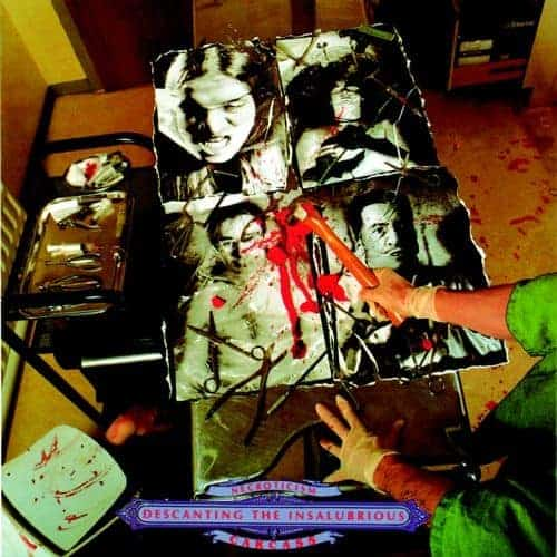 'Necroticism - Descanting The Insalubrious' by Carcass