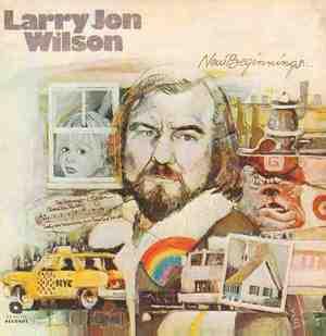 'New Beginnings' by Larry Jon Wilson