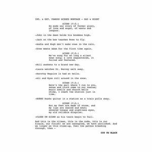 'Cut To Black' by Aidan Moffat & RM Hubbert