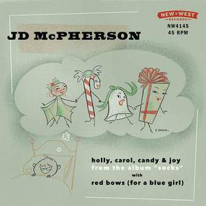 'Holly, Carol, Candy & Joy / Red Bows (For A Blue Girl)' by JD McPherson