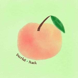 'Peach' by Deerful